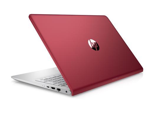 ordinateur hp rouge