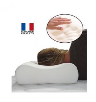 oreiller cervical à mémoire de forme