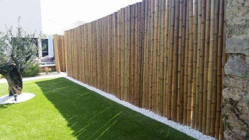 pare vue bambou