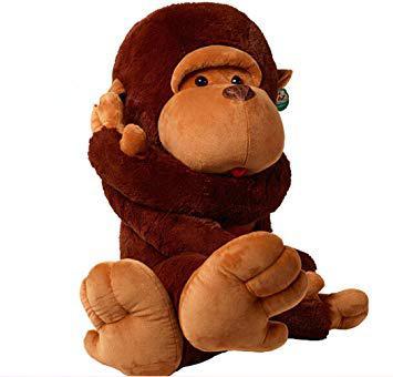 peluche singe geante