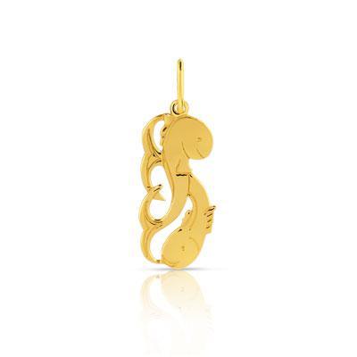 pendentif zodiaque or