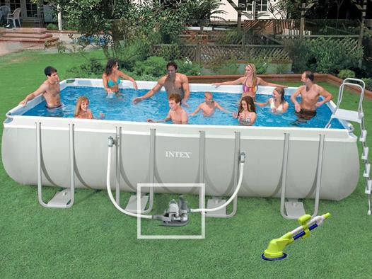 piscine hors sol tubulaire intex rectangulaire