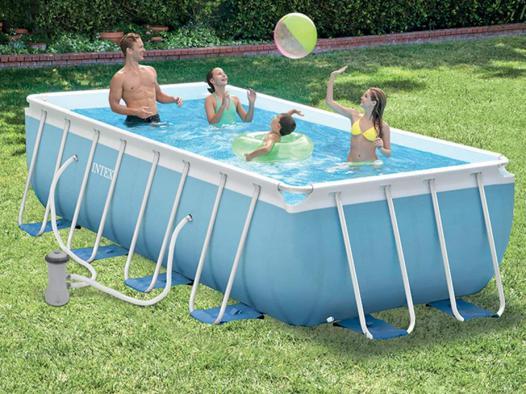 piscine intex tubulaire rectangulaire