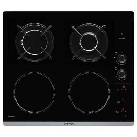 plaque de cuisson mixte induction gaz