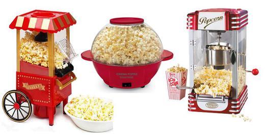 pop corn sucré avec machine