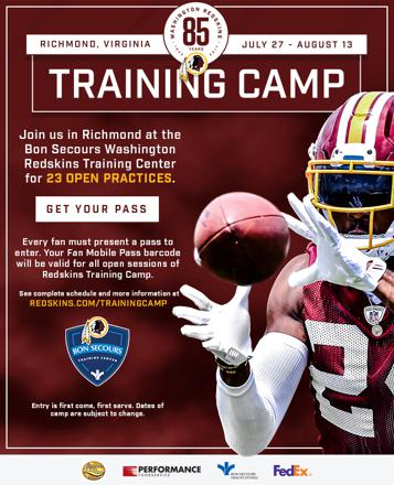promo redskins