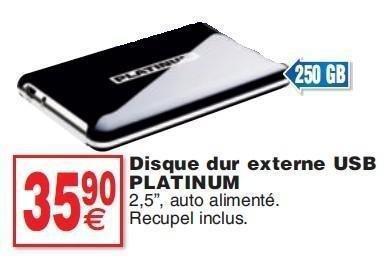 promotion disque dur externe