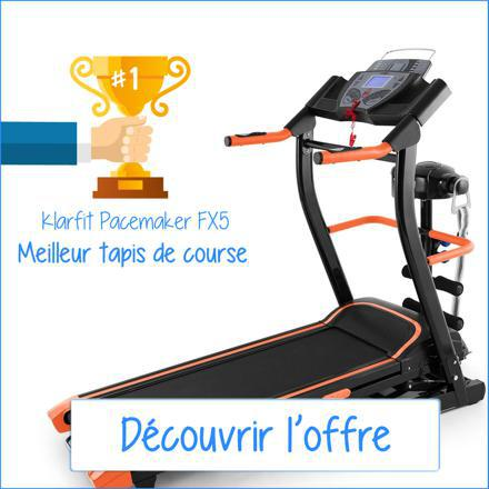 promotion tapis de course