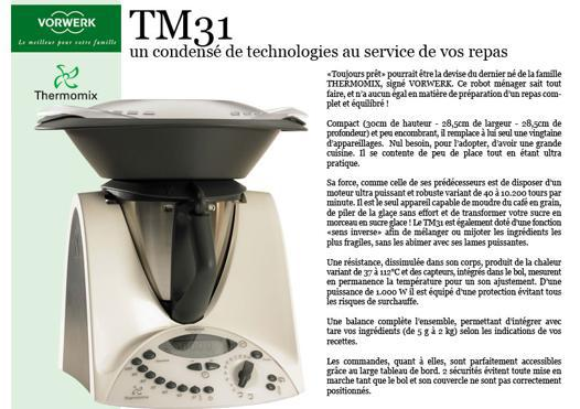 puissance thermomix