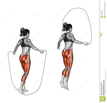 que muscle la corde à sauter