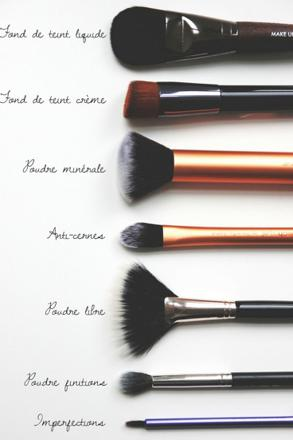 quel pinceau maquillage