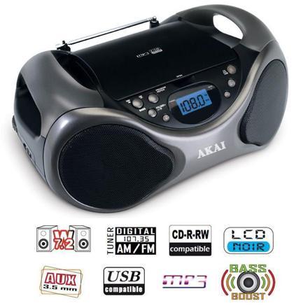 radio cd usb portable