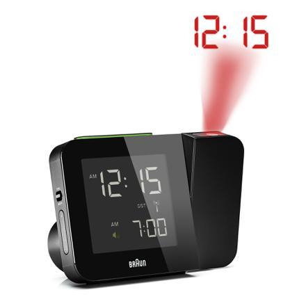 radio réveil avec projection de l heure au plafond