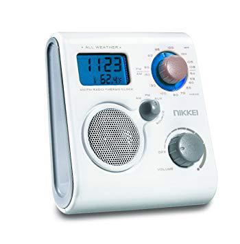 radio reveil douche