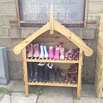 rangement chaussures jardin