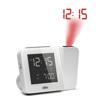 réveil avec projection de l heure