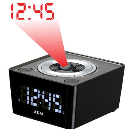 reveil radio projecteur
