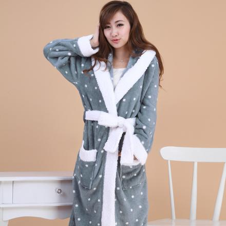 robe de chambre femme polaire