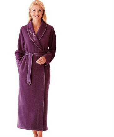 robe de chambre grande taille femme