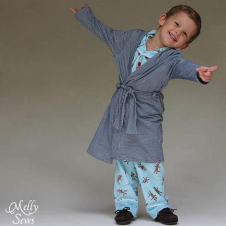 robe de chambre pour enfant