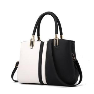 sac a main blanc et noir