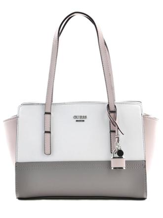 sac à main blanc guess