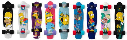 skateboard simpson