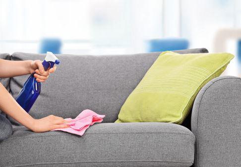tache canapé tissu