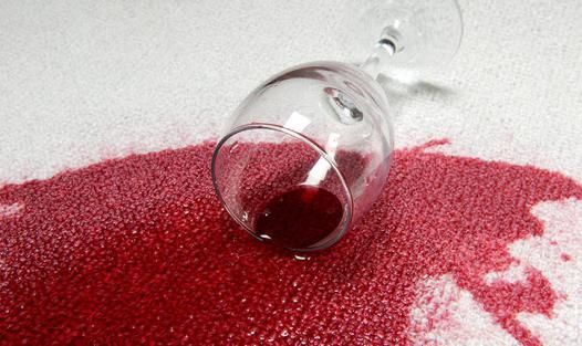 tache de vin tissu