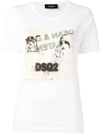 tee shirt imprimé femme pas cher