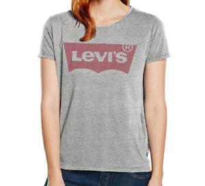 tee shirt levis femme gris