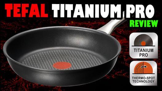 tefal titanium pro