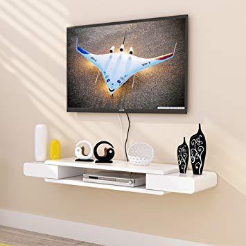 tele suspendu au mur