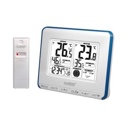 temperature interieure et exterieure