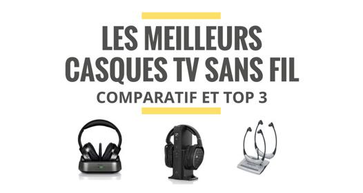 test casque tv sans fil