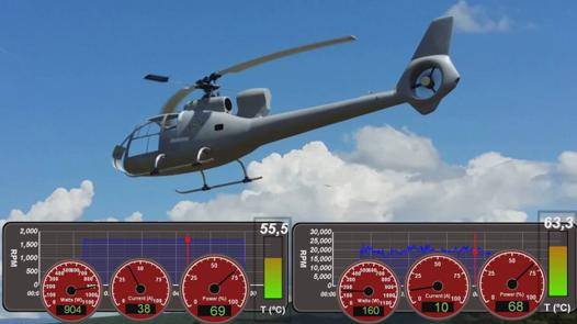 test helicoptere rc