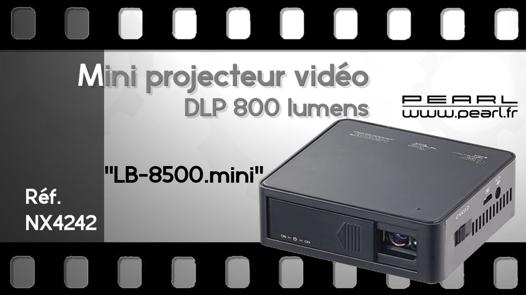 test mini projecteur