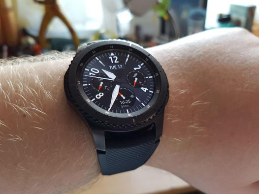 test samsung gear s3