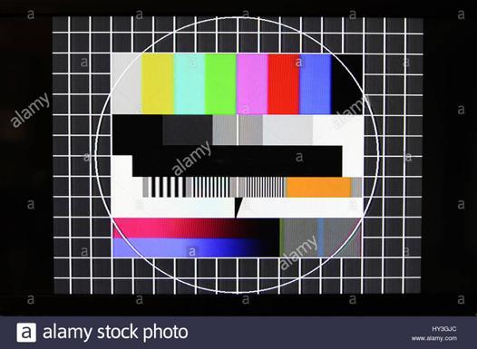 test téléviseur