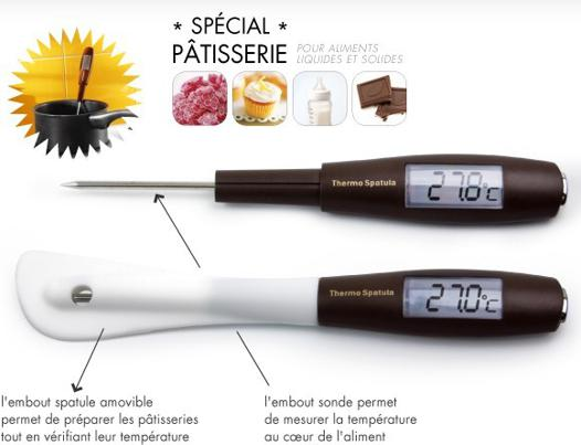 thermometre de cuisson patisserie