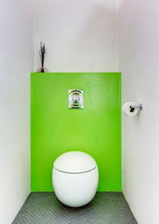 toilettes suspendues