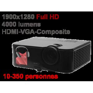 videoprojecteur 4000 lumens